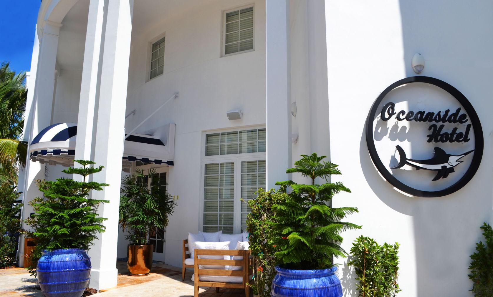 Oceanside Hotel Miami Beach Mid Beach Hotel Restaurant South